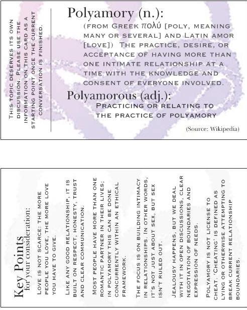 Polyamory cards! | Poly Momma